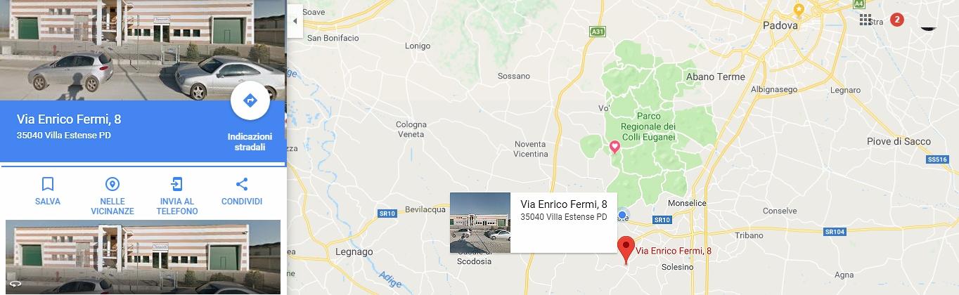 Benedetti-srl-villa-estense-padova-articoli-funerari-cimiteriali-mappa-dove-siamo
